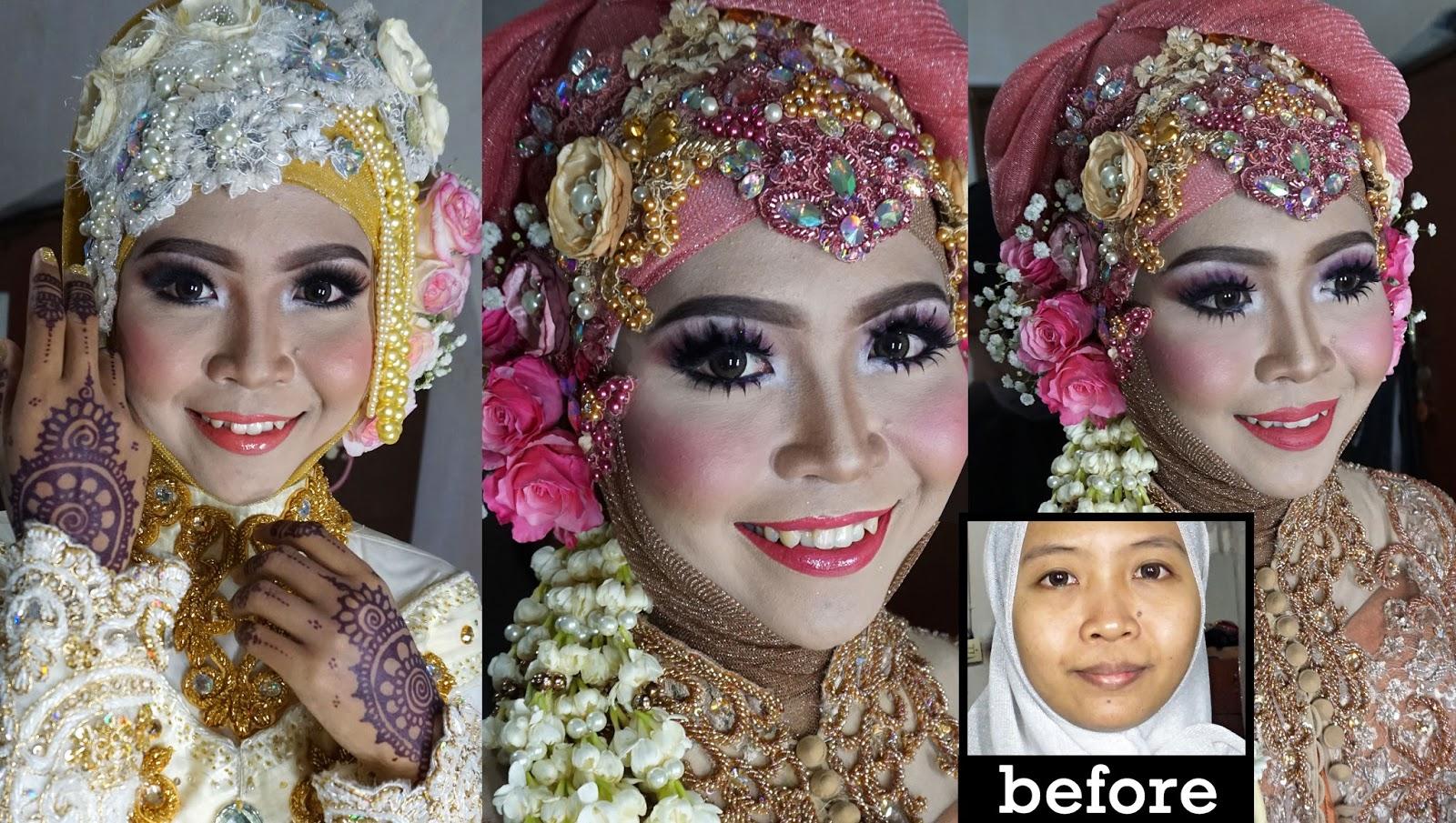 Ini Vindy Yang Ajaib: Wedding Muslim Makeup Tutorial 2016