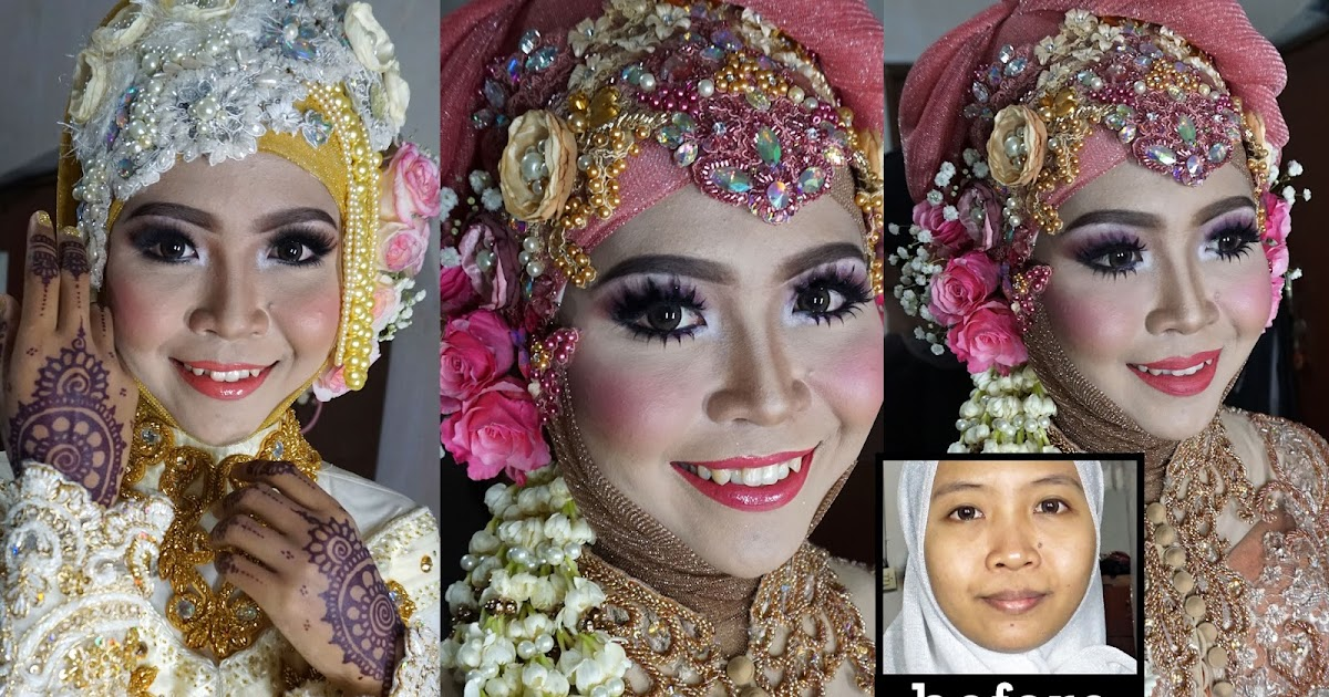 Ini Vindy Yang Ajaib Wedding Muslim Makeup Tutorial 2016