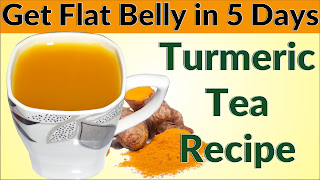 Turmeric Tea for Weight Loss - Get Flat Belly in 5 Days