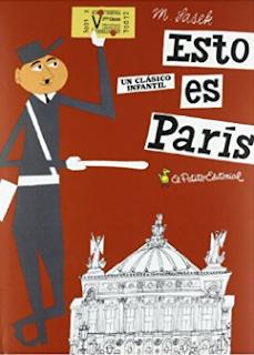 Esto es París libro de Sasek