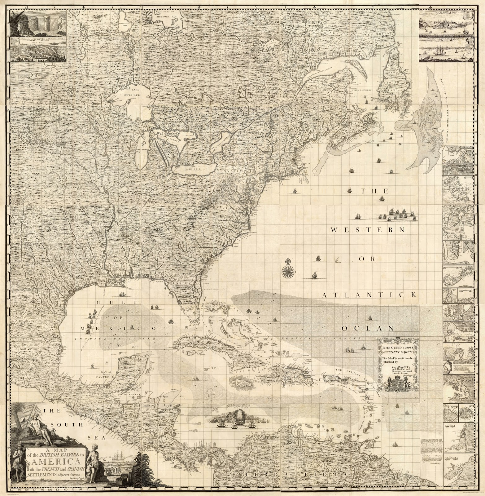this resulted in a number of new maps being sent to the board from the colonies as the maps arrived in london an assistant clerk to the board