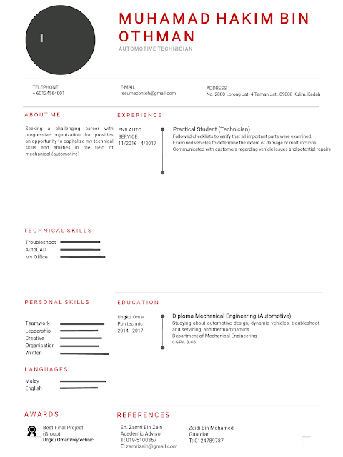 Contoh Resume Yang Mudah dan Terbaik