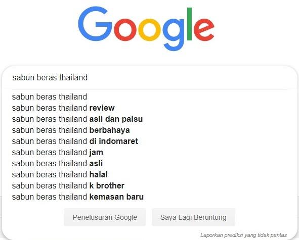 Cara menghapus google negative keyword