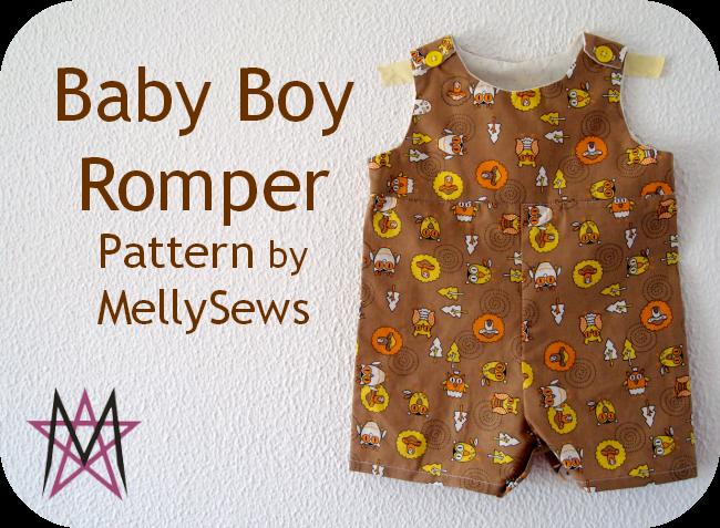 Enchanting Free Baby Romper Sewing Pattern Gift - Knitting Pattern ...