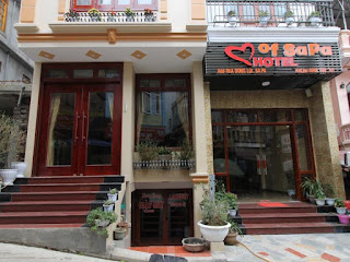khách sạn heart of sapa