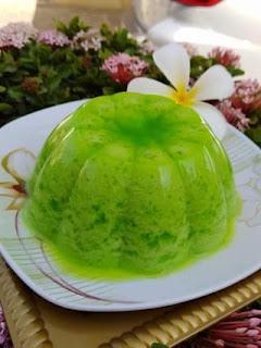 Resep Pudding Lumut Enak dan Sederhana