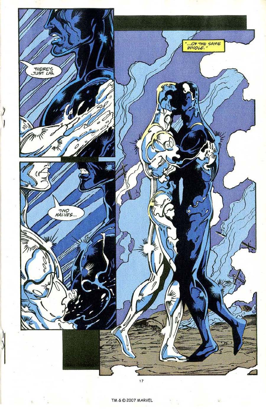 Read online Silver Surfer (1987) comic -  Issue #64 - 19