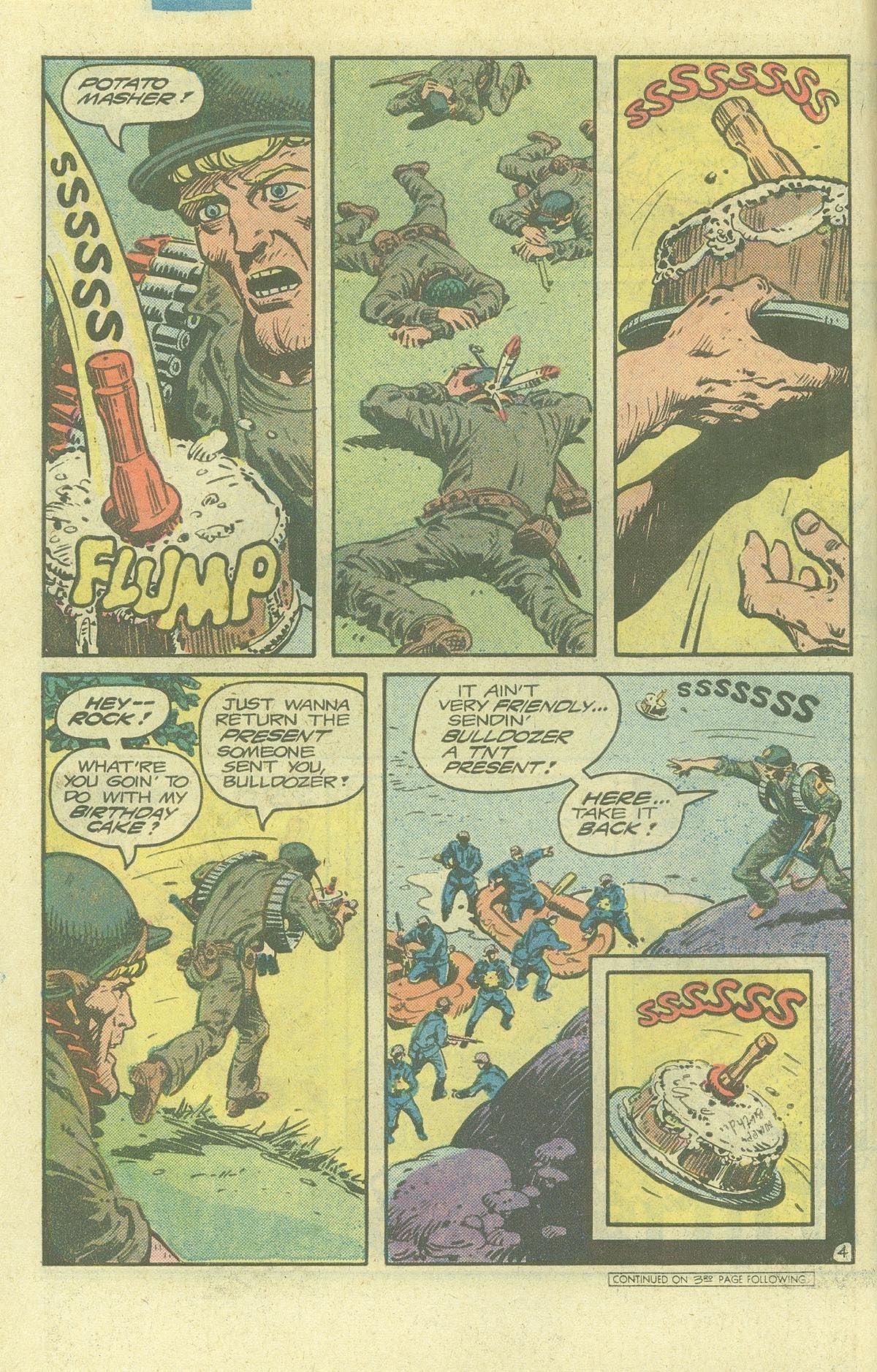 Read online Sgt. Rock comic -  Issue #378 - 5