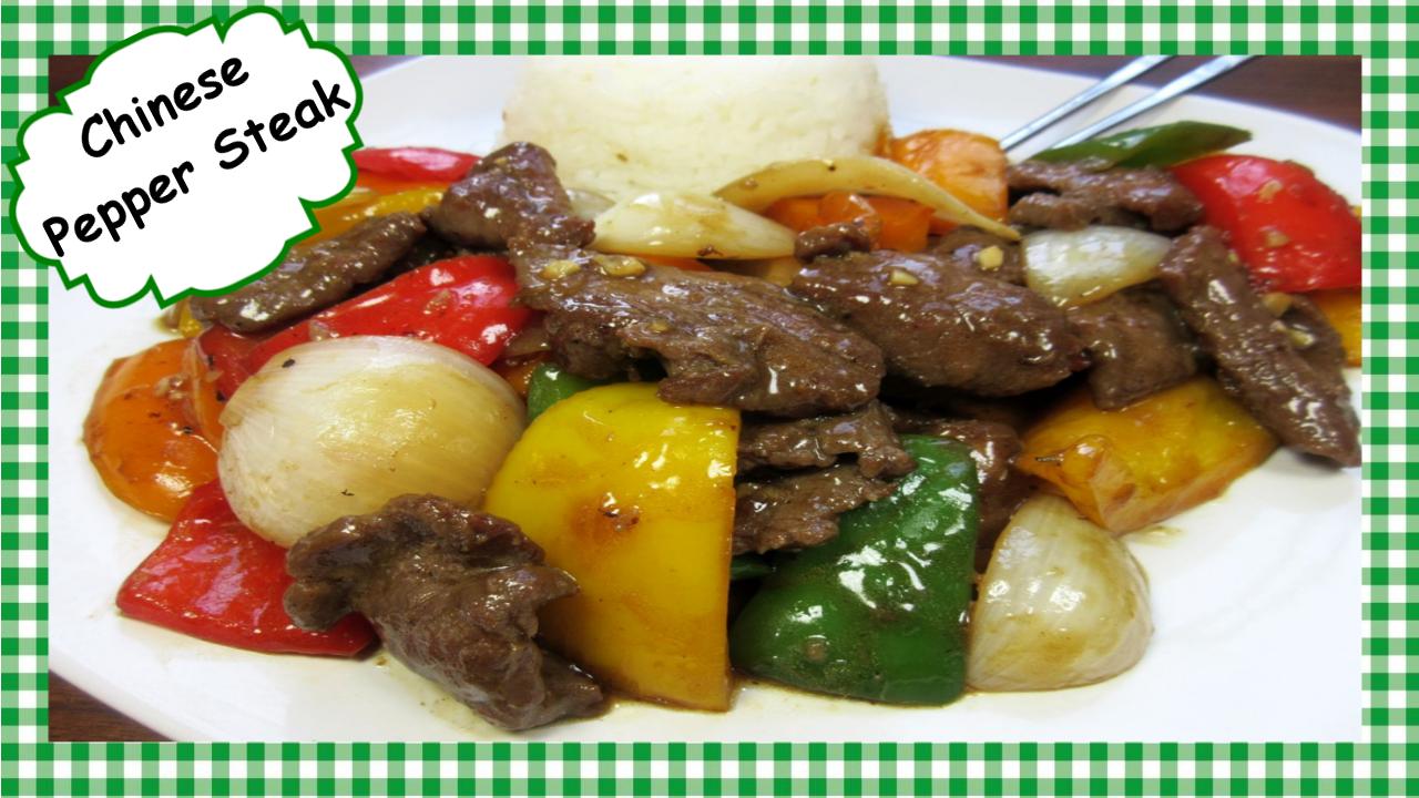 Tess Cooks4u: How To Make The Best Chinese Pepper Steak ...