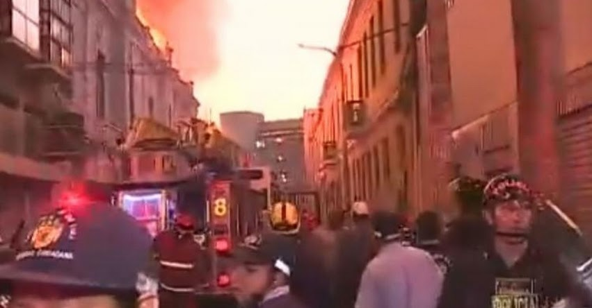 INCENDIO EN MESA REDONDA: Escolares de zona afectada por incendio asistirán a clases este lunes 22 de abril