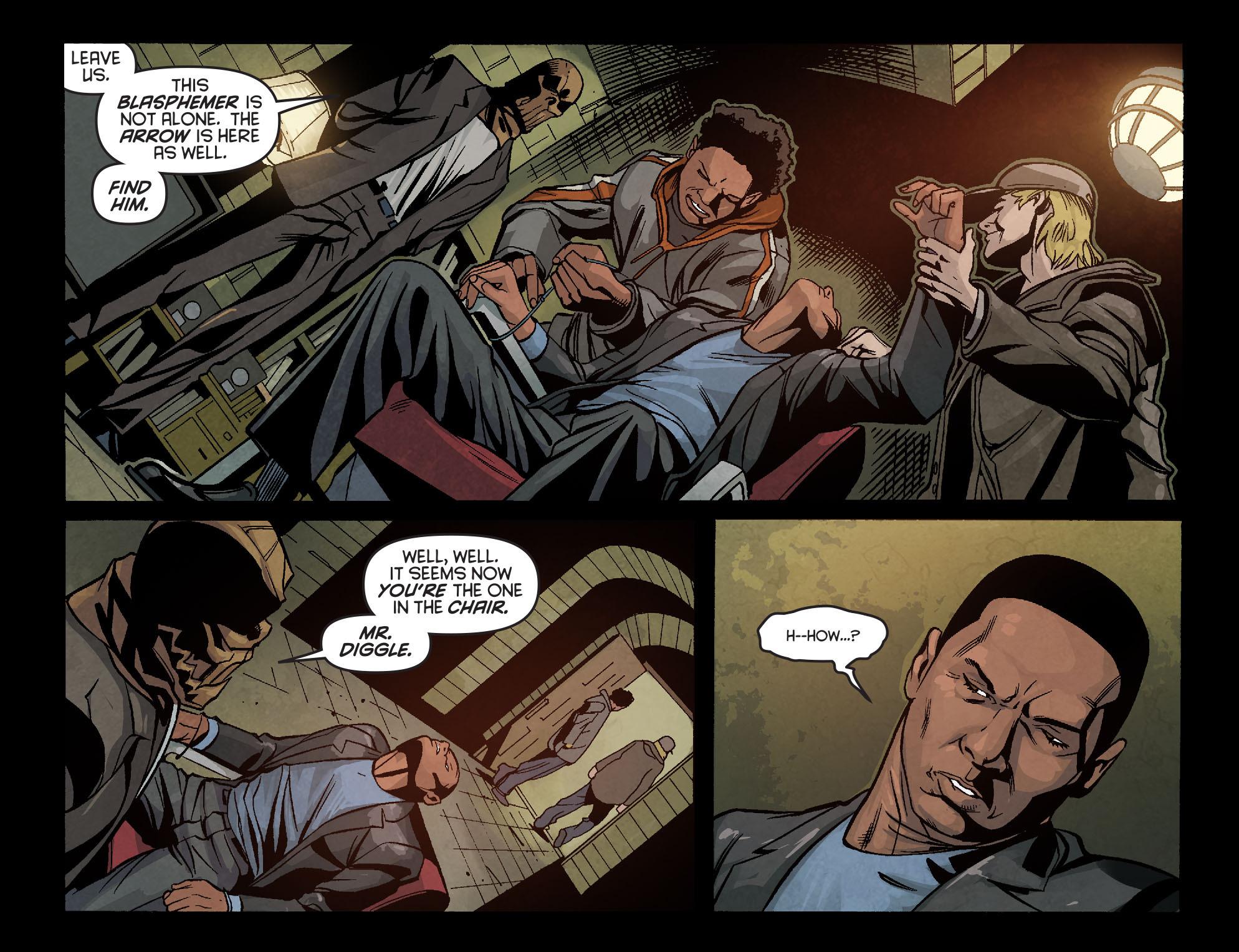 Read online Arrow: Season 2.5 [I] comic -  Issue #6 - 13