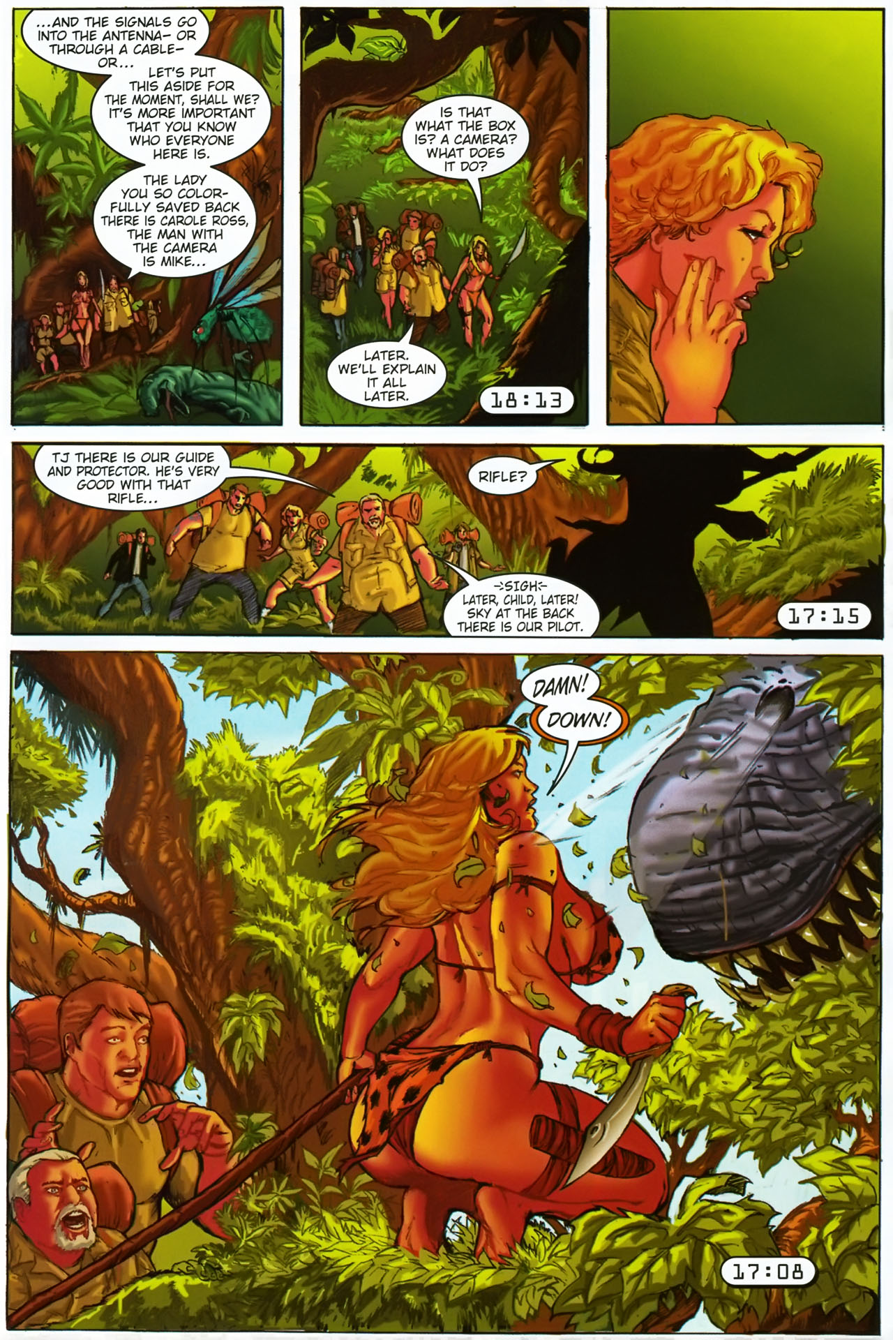 Read online Jungle Girl comic -  Issue #1 - 19