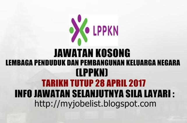 Jawatan Kosong Kerajaan Terkini di LPPKN April 2017