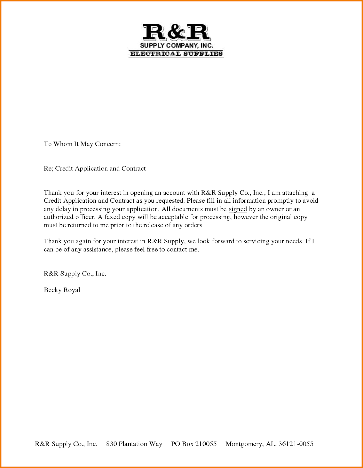To Whom It May Concern Letter Sample For Student