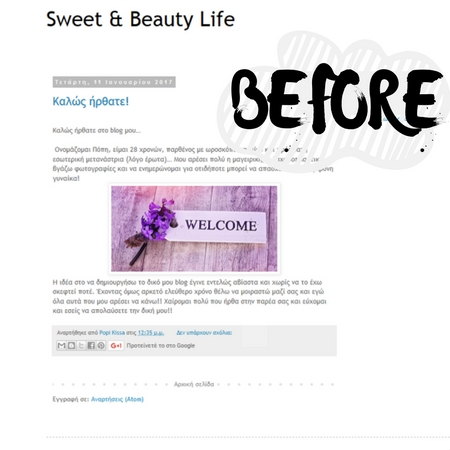 Recent Blog Design Work: Sweet & Beauty Life