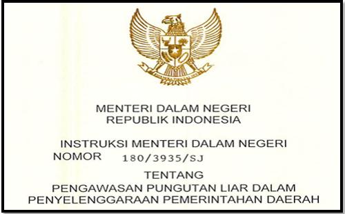 Surat Larangan Pemotongan Gaji Guru dan Dana Bos SD SMP SMA SMK Oleh Mendagri