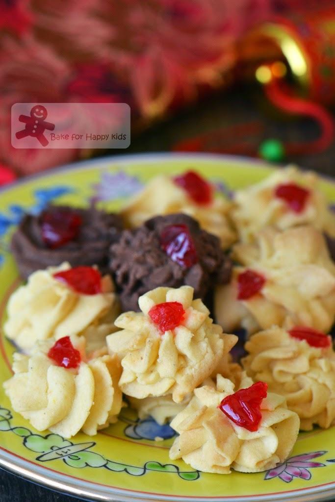 Biscuit Samprit Biskut Ceri Nyonya Cherry Cookies