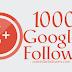 Buy 1000 Google Followers [100% Guaranteed]
