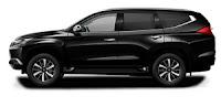 Mitsubishi Pajero Exceed Warna Hitam