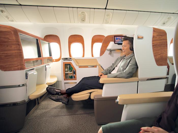 Emirates, Boeing 777-300ER, z Dubaju do Male, Linie lotnicze, Malediwy, z Dubaju na Malediwy, Emirates klasa biznes,