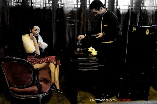 Beyond The Frame | Yi Yi At A Tea House | X-Pro2