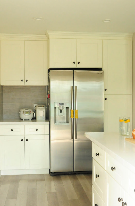 white kitchen cabinet