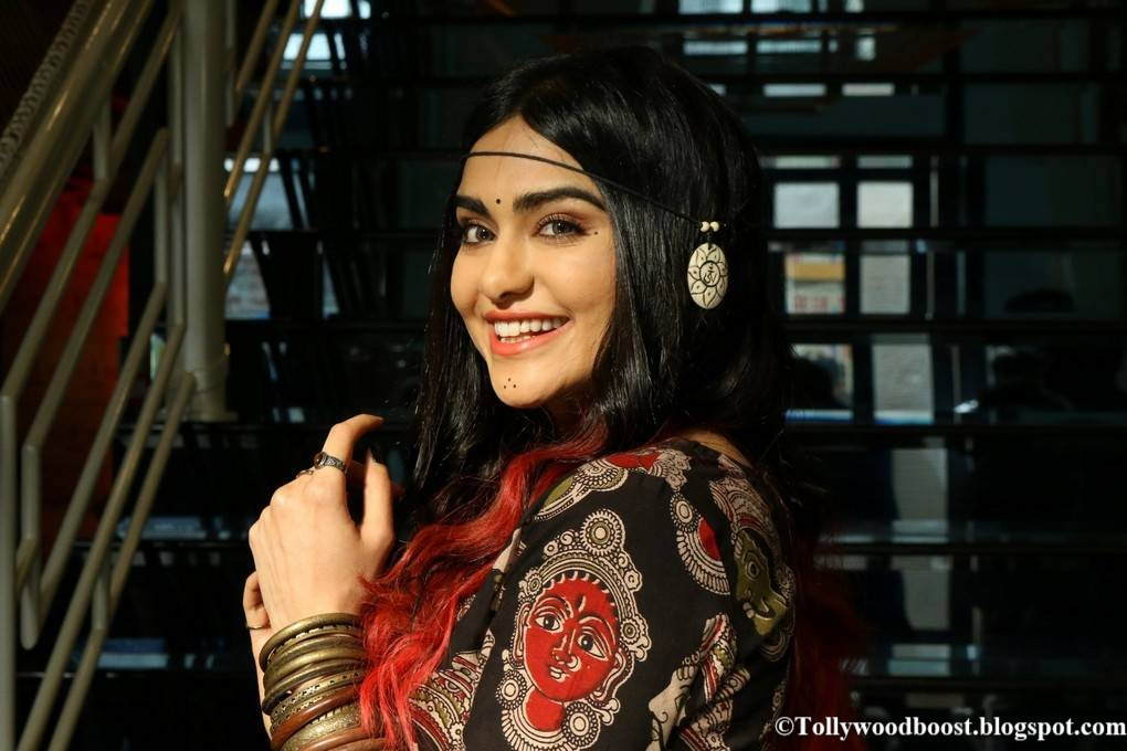 Adah Sharma Stills At Craftsvilla Indian Ethic Wear Fashion Show