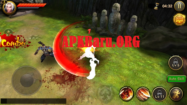Dynasty Blades Warriors MMO Games v2.7.1 Full Mod Apk
