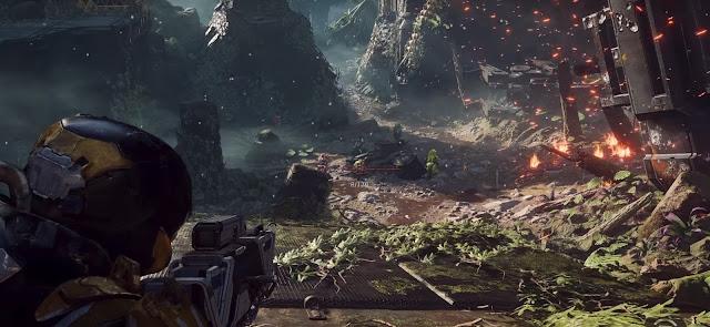 Screenshot of Anthem