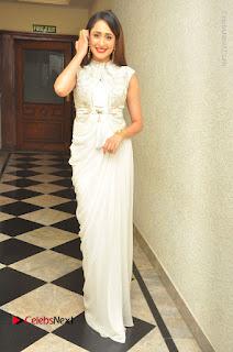 Actress Pragya Jaiswal Stills in Beautiful White Dress at turodu Audio Launch  0049.JPG