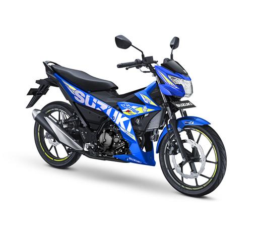 Warna Baru All New Suzuki Satria F150 Lebih Berani dan Elegan