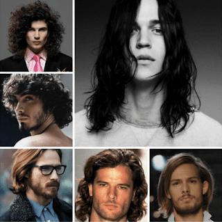 Model rambut panjang pria