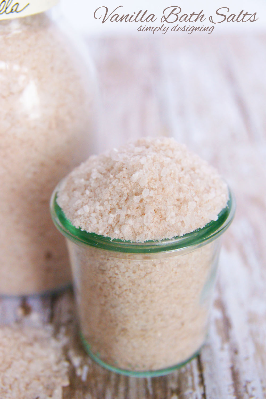 Bath Salt Recipe Scented With Vanilla Make It In Minutes
