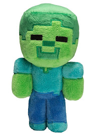 Minecraft Spin Master Zombie Plush