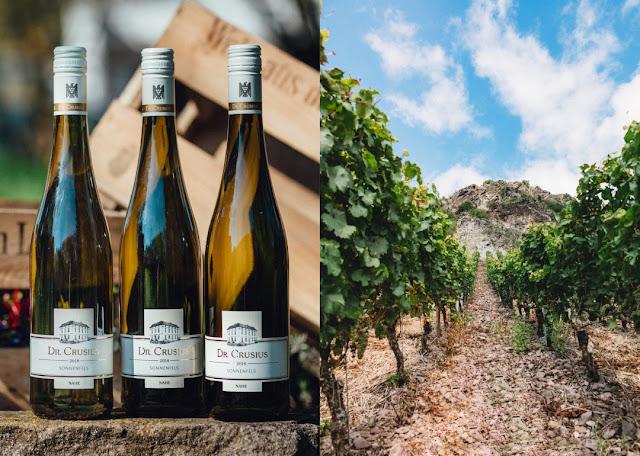 Riesling aus Steillagen vom Weingut Dr. Crusius in Traisen an der Nahe.