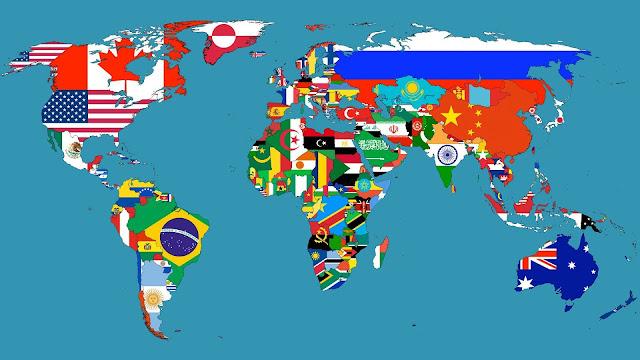 بلاد وجنسيات - تعليم الانجليزية بسهولة بدون معلم
