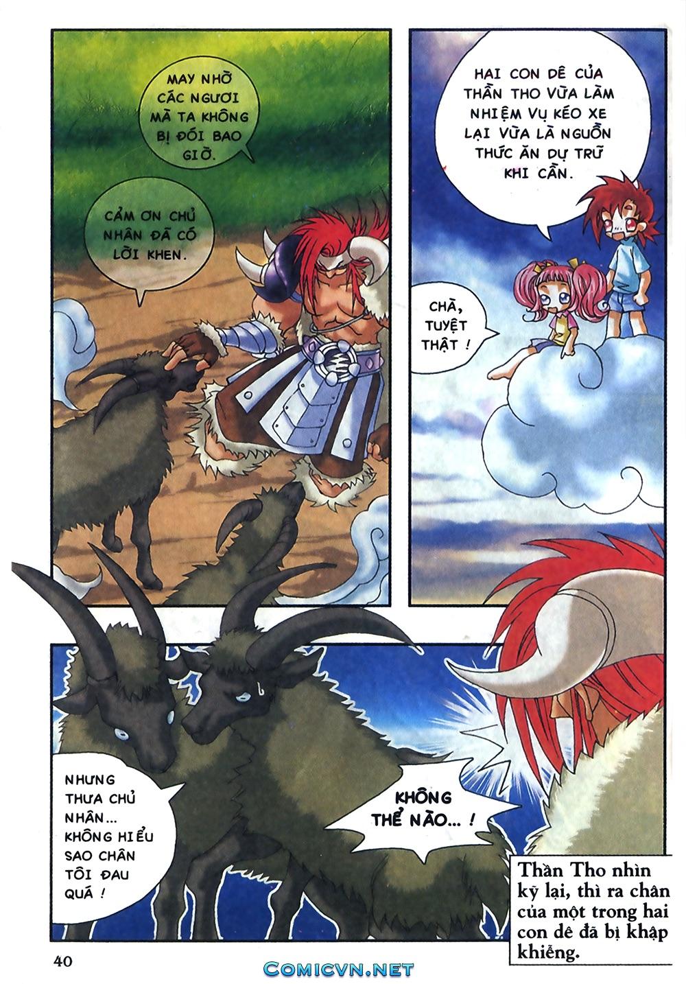 Thần thoại Bắc Âu - Chapter 18: Thần sấm sét - Pic 41