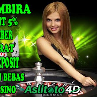 Promo Bonus Deposit Sebesar 5% Untuk Semua Permainan |Togel Online | Livecasino Online