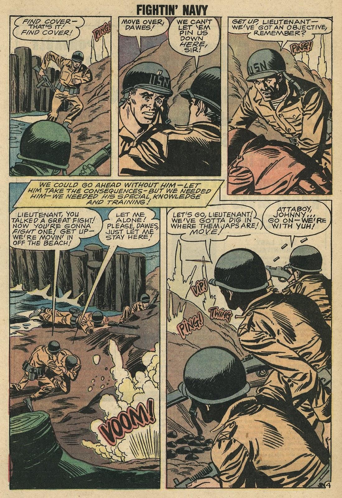 Read online Fightin' Navy comic -  Issue #86 - 31