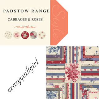 Moda PADSTOW RANGE Quilt Fabric by Cabbages & Roses