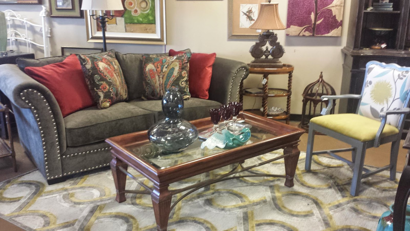 sofas in atlanta curved top grain leather sectional sofa furniture stores simple view of north