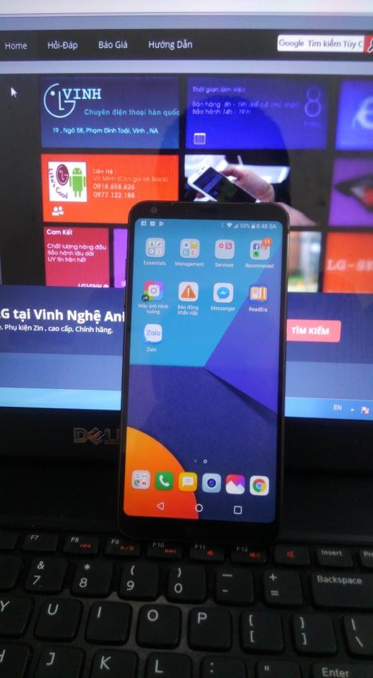 Dịch vụ] Fix Face cry (mặt khóc) Unlock LG G6 ~ LGV MOBILE