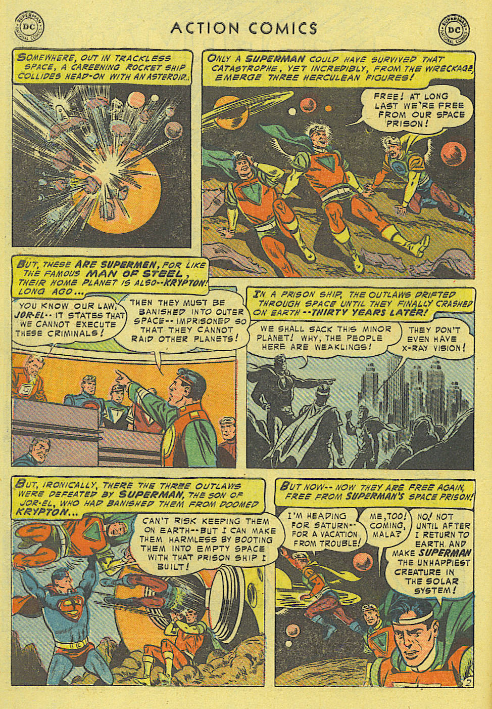 Read online Action Comics (1938) comic -  Issue #194 - 3