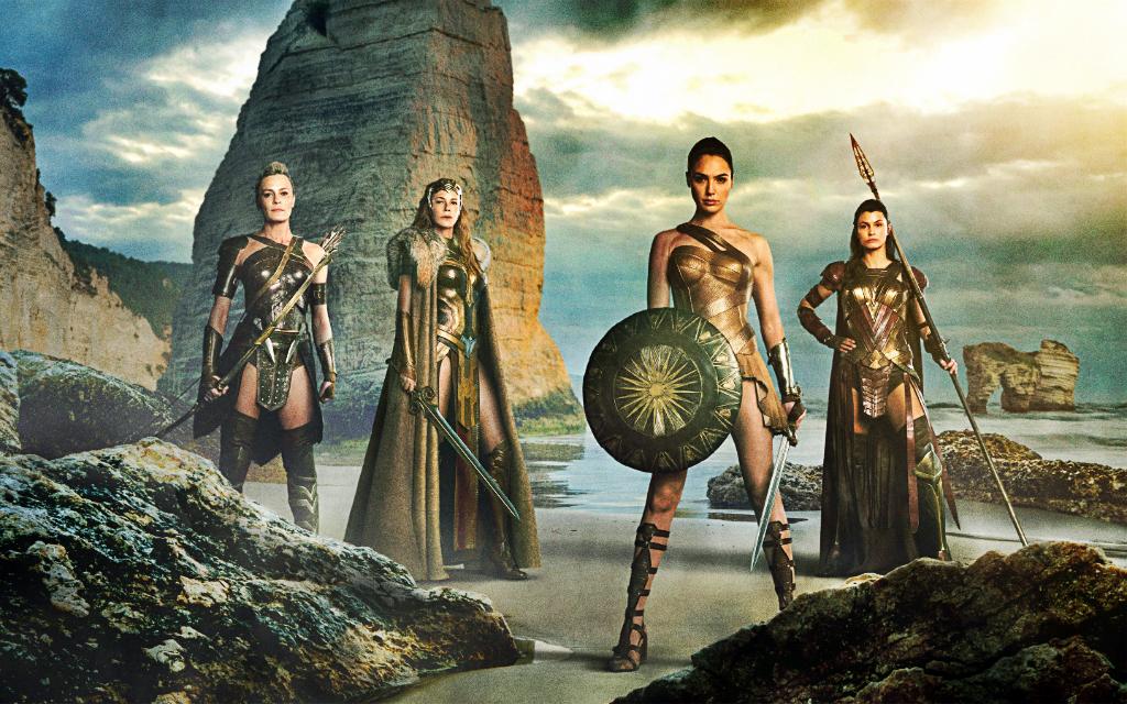 "Nc Nielsen >> EcoworldReactor: ""WONDER WOMAN 2017"" Comic-Con Trailer"