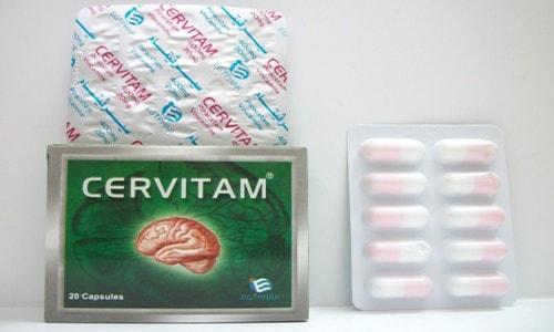 سعر ودواعى إستعمال دواء سيرفيتام Cervitam كبسولات لتقوية الذاكرة