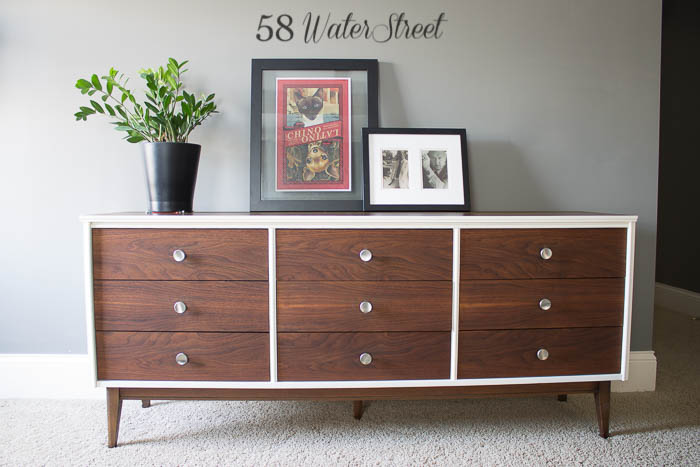 Vintage Bett Makeover Dresser Danish Oil Annie Sloan Chalk Paint