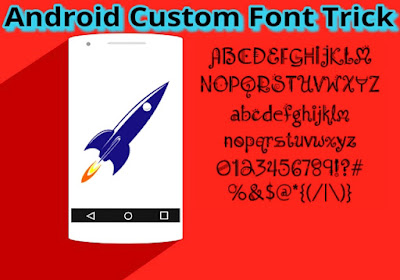 Android Mobile Ke Font Change Kaise Kare Use custom font.