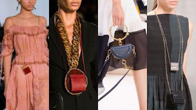 From left: Valentino, Givenchy, Chloe and Valentino. Photos: Imaxtree