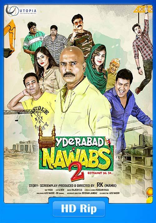 Hyderabad Nawabs 2 2019 Hindi 720p HDRip ESub x264 | 480p 300MB | 100MB HEVC