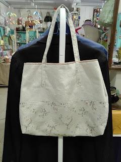 Bolso de tela artesanal by Curioseart